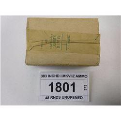 303 INCH D.I.MKVIIZ AMMO