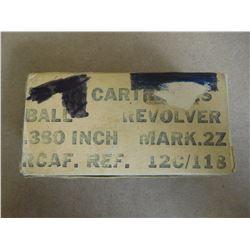 R.C.A.F. .380 CAL MARK .2Z 12C/118