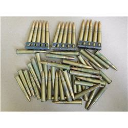 ASSORTED LOT OF .303 BRITISH SOME ON STRIPPER CLIPS