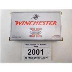 WINCHESTER 338 WIN MAG AMMO