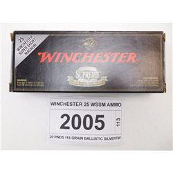 WINCHESTER 25 WSSM AMMO
