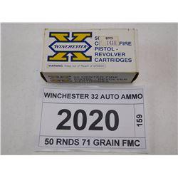 WINCHESTER 32 AUTO AMMO