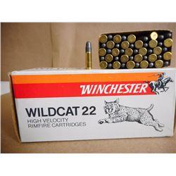 WINCHESTER WILDCAT 22 HIGH VELOCITY LR