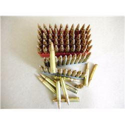 .223 REM AMMUTION IN PLASTIC HOLDER AND 1 STRIPPER CLIP