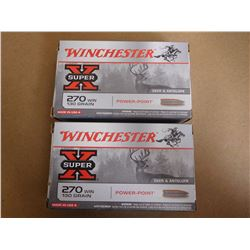 WINCHESTER 270 WIN 130 GR POWER-POINT