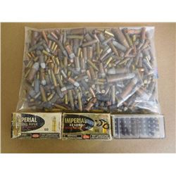 ASSORTED LOT OF MIXED RIM FIRE AMMUNITION,L SOME ANTIQUE AND NEWER