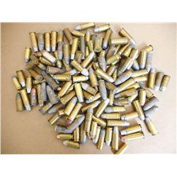 ASSORTED LOT OF HAND GUN AMMUNITION VARIOUS SIZES
