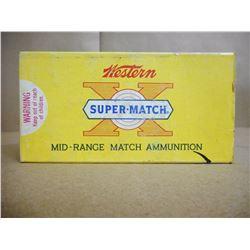 WESTERN SUPER MATCH 38 SPL MID-RANGE 148 GR LEAD CLEAN- CUTTING