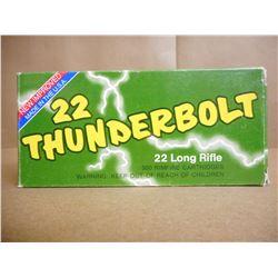 REMINGTON THUNDERBOLT 22 RIM FIRE LR