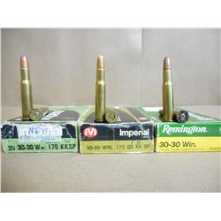 ASSORTED LOT OF 308 WIN RELOAD AMMO