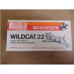 WINCHESTER WILDCAT 22 HIGH VELOCITY RIM FIRE LR