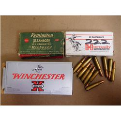 ASSORTED LOT OF 222 REMINGTON