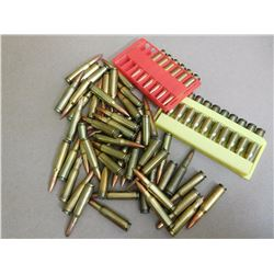 ASSORTED LOT OF .308 AND 2 PLASTIC HOLDERS