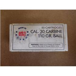 ASSORTED .30 CARBINE 110 GR BALL