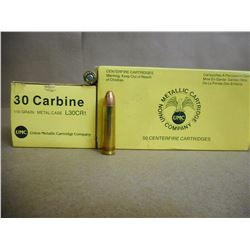 UMC 30 CARBINE 110 GR
