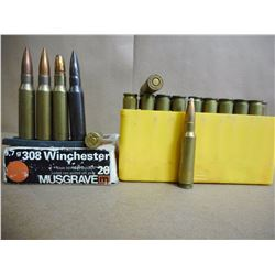 ASSORTED LOT OF .308 AMMO