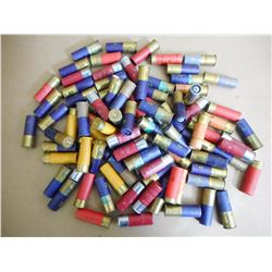 ASSORTED LOT OF 12 GAUGE SHOTGUN SHELLS VARIOIUS SIZES