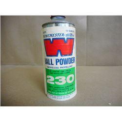 WINCHESTER BALL POWDER #230 SMOKELESS