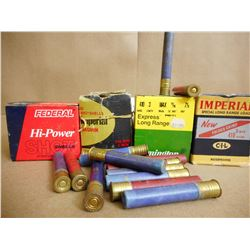 ASSORTED LOT OF 410 GA X 3 INCLUDES IMPERIAL, FEDERAL AN D REMINGTON