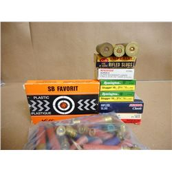 ASSORTED LOT OF SHOTGUN SHELLS INCL. 410, 16, 20, AND 10 GA VARIOUS LENGTHS