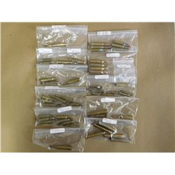 ASSORTED LOT OF AMMO INCL. 8X57, 243 WIN, 244 WIN, 38-55, 35, 32,. 225WIN, 25-35, 22 H.P 22 HORNET,