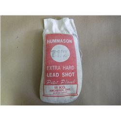 HUMMASON 7 1/2 EXTRA HARD LEAD SHOT (SEALED)