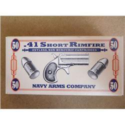 NAVY ARMS CO .41 RIM SHORT