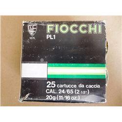 FIOCHI 24 GA X 2 1/2 # 8 SHOT
