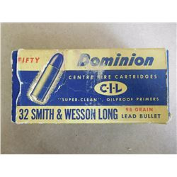 DOMINION CIL 32 S & W LONG 98 GR