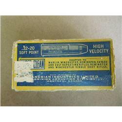 DOMINION SUPER-CLEAN .32-20 HIGH VELOCITY SOFT POINT