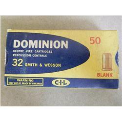 DOMINION 32 S & W BLANKS
