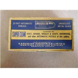 DOMINION SUPER-CLEASN .32 COLT AUTOMATIC