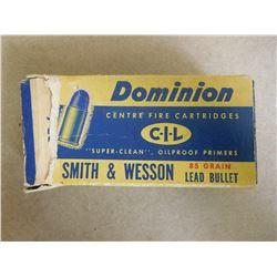 DOMINION CIL .32 S & W 85 GR LEAD BULLETS