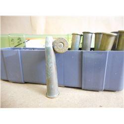 38-56 AMMO IN PLASTIC CASE