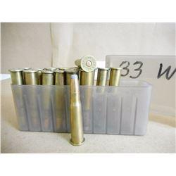33 WINCHESTER AMMO IN PLASTIC CASE