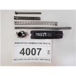 ASSORTED REMINGTON PARTS