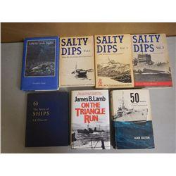 CANADIAN NAVY & SHIP BOOKS