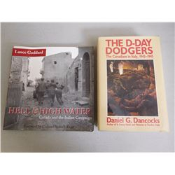 CANADIANS IN ITALY BOOKS