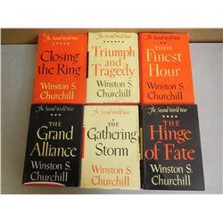 ASSORTED WINSTON CHURCHILL BOOKS