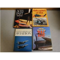 ASSORTED AIRFORCE HARDCOVERS