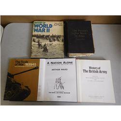 ASSORTED HISTORY & WAR BOOKS