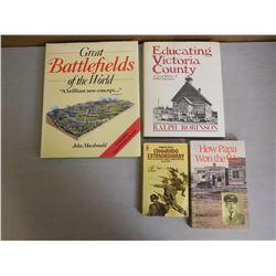 ASSORTED WAR BOOKS