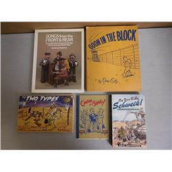 ASSORTED WAR BOOKS & SONGS