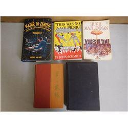 ASSORTED WAR BOOKS & NOVELS