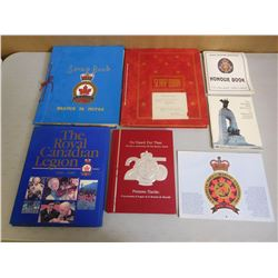 ASSORTED CANADIAN LEGION BOOKS