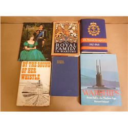 ASSORTED NAVY AND BRITISH ROYALTY BOOKS