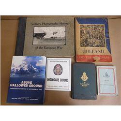 ASSORTED WAR / HISTORY BOOKS