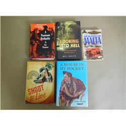 ASSORTED WAR NOVELS & BOOKS