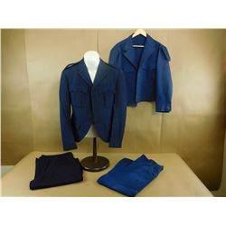 MILITARY UNIFORMS - BLUE SOLID