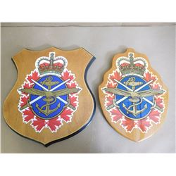 CANADIAN ARMED FORCES CRESTS